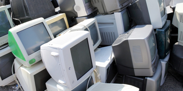 液晶ディスプレイの廃棄方法